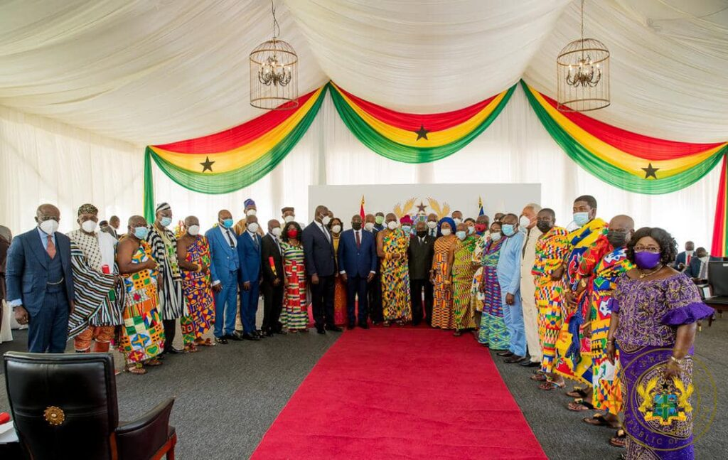 Be proactive partners in nation-building  –  Akufo-Addo to Council of State