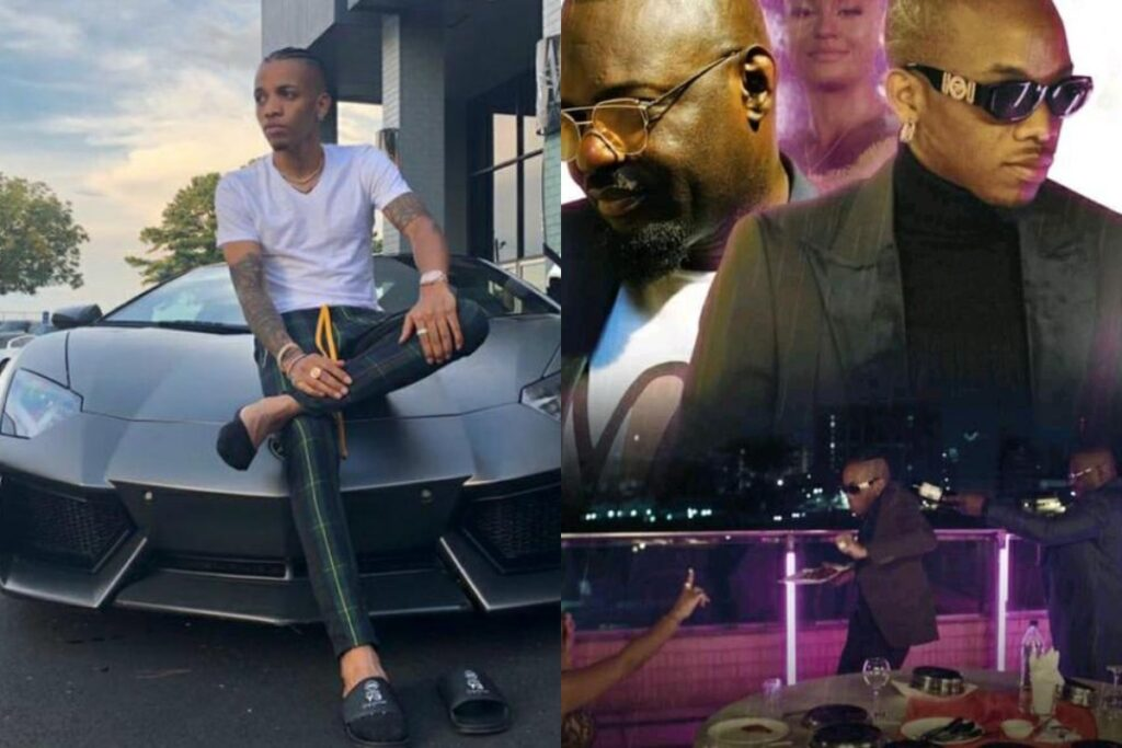 Are You Ready For Tekno's Designer Video With Jim Iyke?
