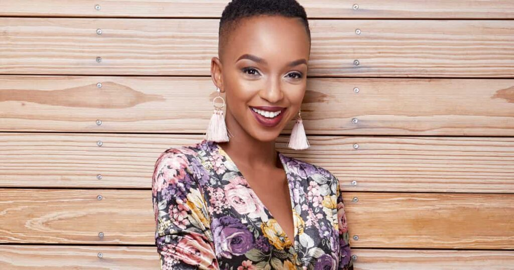 Nandi Madida Gets Another Gift From Beyonce          She got gifted goodies from Bey's 'ICY Park' range
