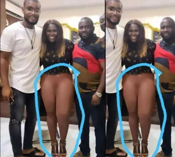 See What An Actress Is not Wearing In A Group Photo That Made People Blast Her