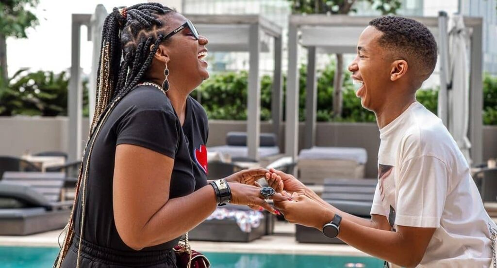Shauwn Mkhize Is Happy For Lasizwe And His New Bae         She says the comedian is glowing