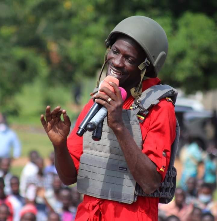 The Method Is Withdraw For Bobi Wine         He Could not Finish The Race