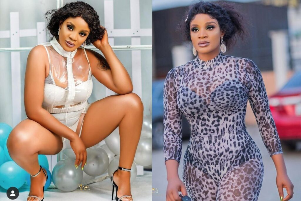 'You Too Do, Yet Nobody Send You' – Fans Drag Uche Ogbodo After She Posted New Photos Of Herself Online