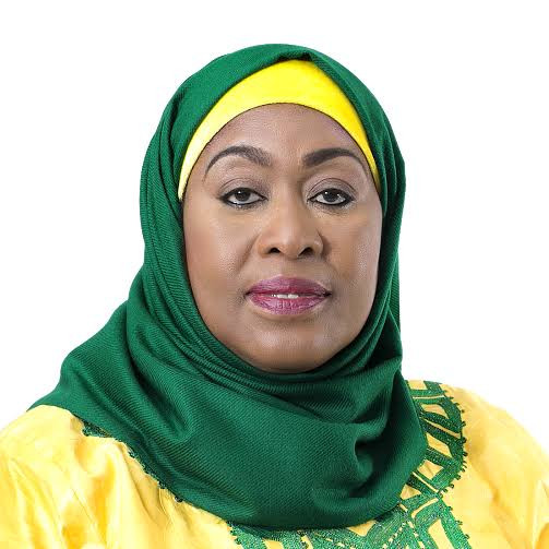 Tanzania's VP, Dr. Samia Suluhu Hassan, is sworn-in as the country's first female President