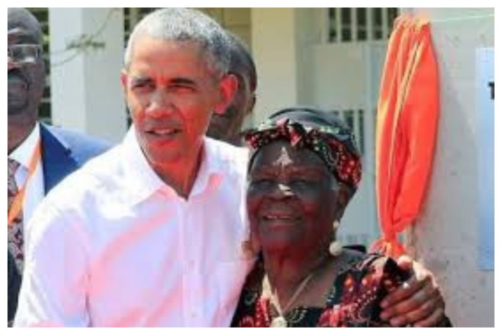 JUST IN: Barrack Obama's grandmother, Mama Sarah Obama, is dead