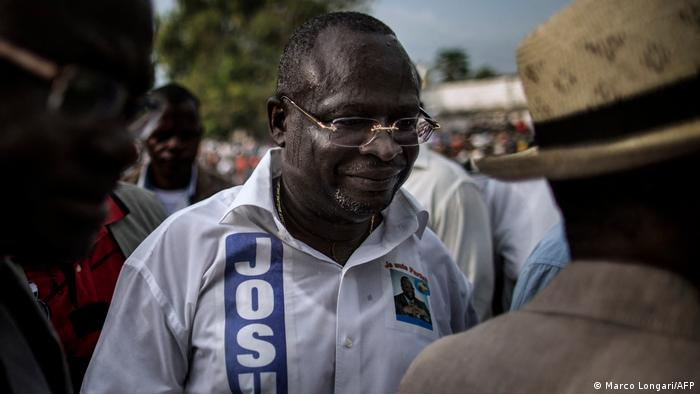 Congo's presidential candidate dies just a day after elections