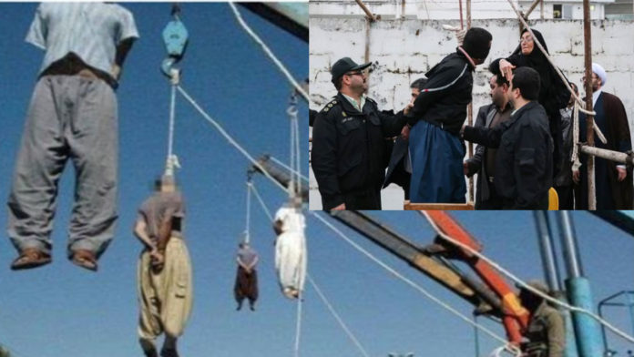 4 men hanged to death in Iran after teaming up to rape a woman