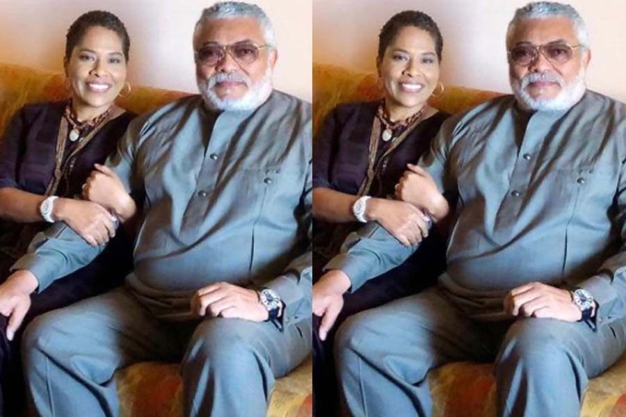 Nathalie Yamb: Late Jerry John Rawlings' alleged side chick claims she 'can't get over him'