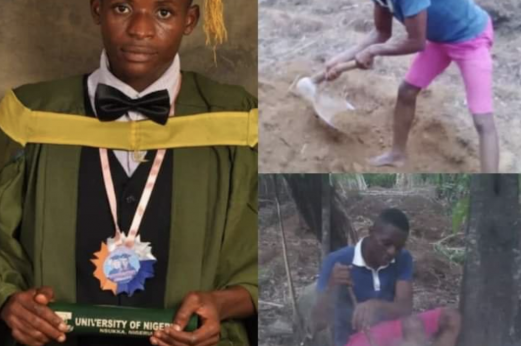 UNN First Class Graduate Who Ventured Into Cassava Farming In His Village For Survival Bags PhD Scholarship In The US