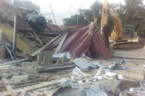 Over 40 houses near Weija Dam pulled down