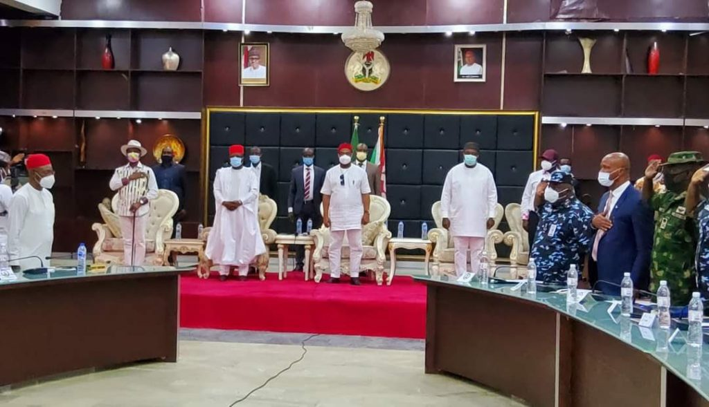 South-East governors outdoors their own security agency to tackle insecurity in the region