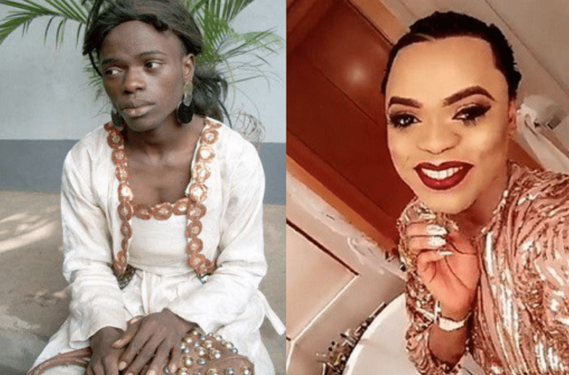 Bobrisky hails herself as being part of the most beautiful women in Nigeria