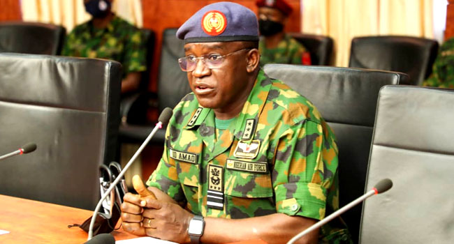 Chief Of Air Staff assures Nigerians of fighting and defeating terrorists