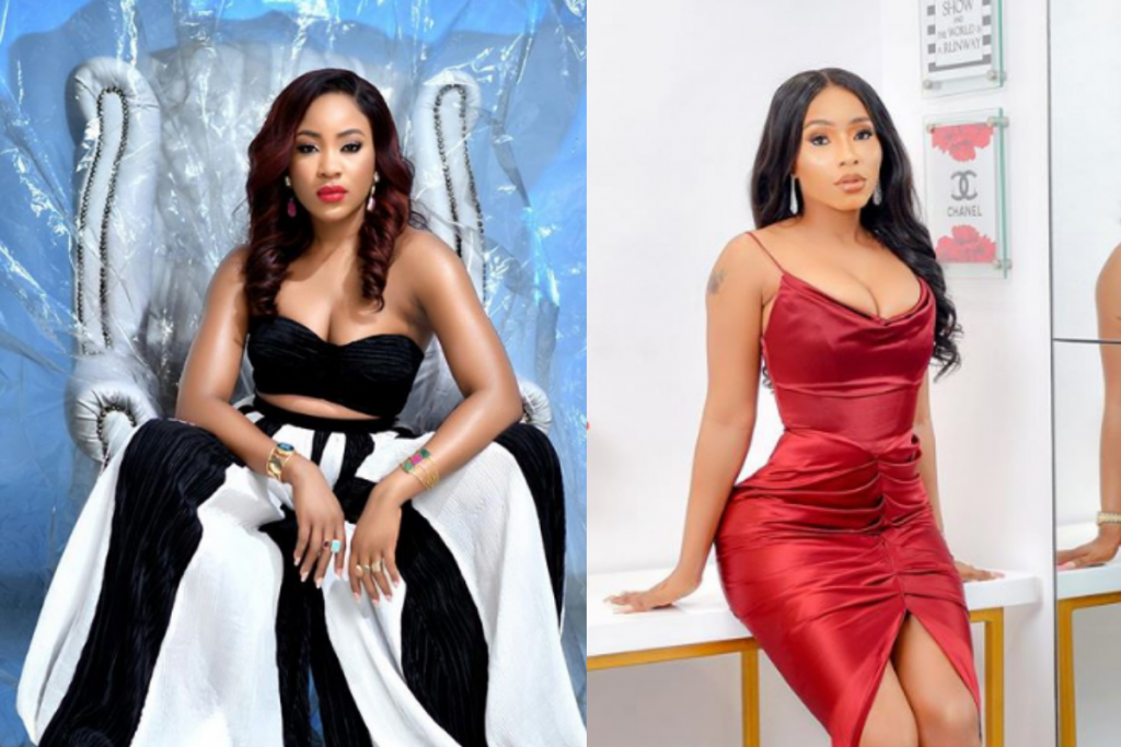 Check out how Mercy Eke of BBNaija fame twerked her heart out inside a strip club