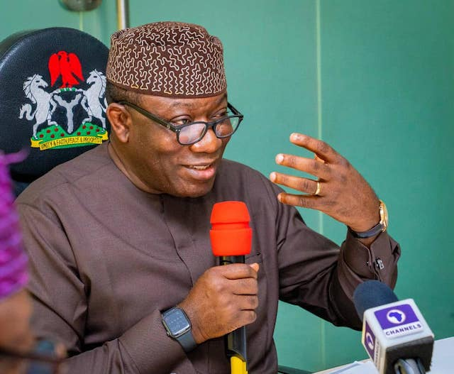First private cemetery in Ekiti inaugurated by Fayemi