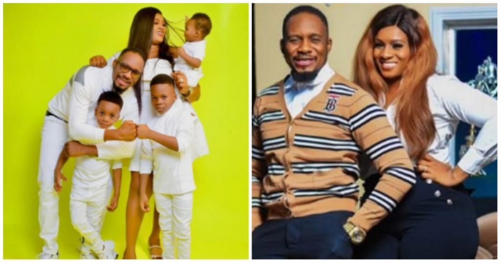 Beautiful! Actor, Junior Pope Odunwodo and his wife marks their seventh wedding anniversary