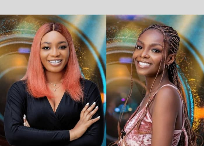BBNaija 2021: First HoH, Peace Clashes With Beatrice In A Heated Argument Over Task Preparation