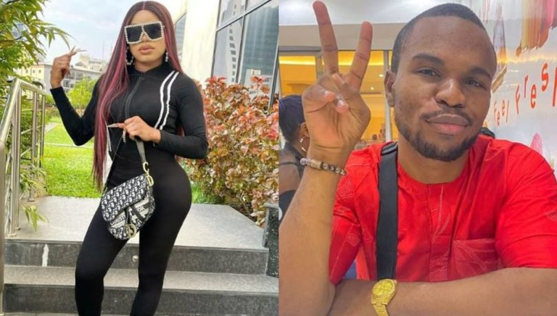 Bobrisky Calls Out Instagram Blogger, Tosin Silverdam For Making Demeaning Posts About Him, Tells Him To Stop Or Risk Facing The Law