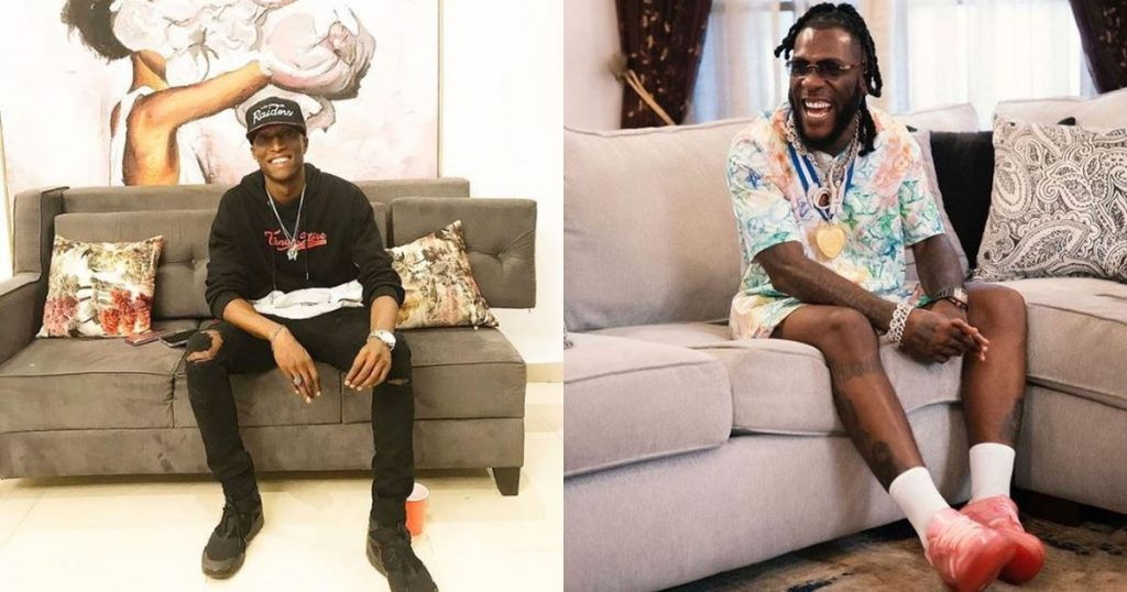 N6 alleges that he made half a million  after chilling with Burna Boy at a club (Video)