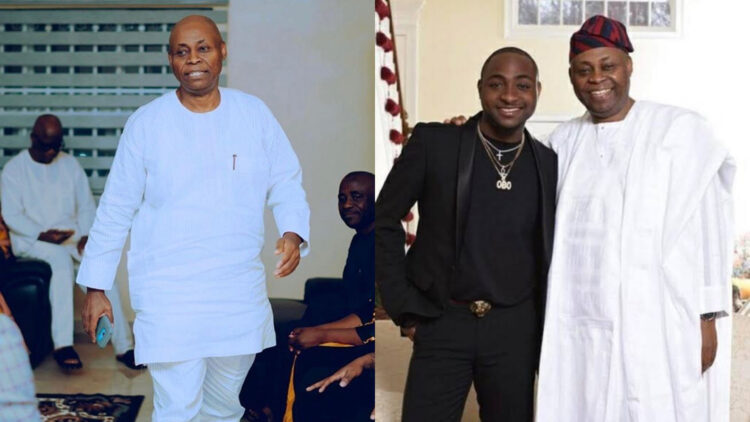 Singer, Davido Uses His Newly Acquired Rolls-Royce Cullinan To Pull A Surprised On His Billionaire Father