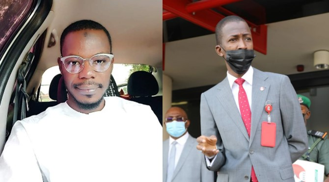 Man begs EFCC to help with capital to set up a business