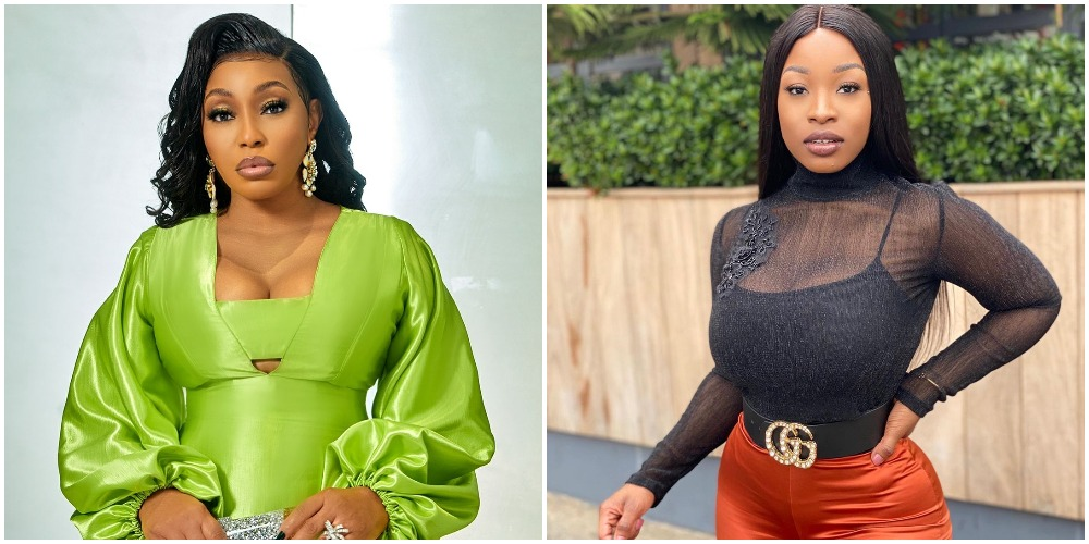 BBNaija 2021: Jackie B Tells Maria Chiki That People Points Out Her Resemblance With Rita Dominic