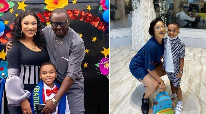 Tonto Dikeh affirms that his son will be a good man and husband in the future